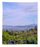 Pleasanton Preserve Fleece Blanket