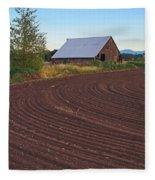 Plow Designs And A Barn Fleece Blanket