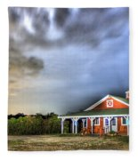 Plymouth Orchards Plymouth Mi  Fleece Blanket