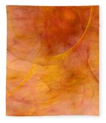 Poetic Emotions Abstract Expressionism Fleece Blanket