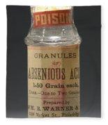 Poison Circa 1900 Fleece Blanket