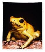 Poison Dart Frog Fleece Blanket