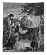 Poland: Cholera, 1873 Fleece Blanket