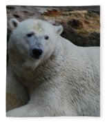 Polar Bear 1 Fleece Blanket