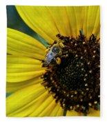 Pollen Laden  Fleece Blanket