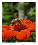 Pollenating Fleece Blanket