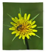 Pollination Fleece Blanket