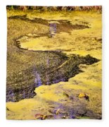 Pond Scum One Fleece Blanket