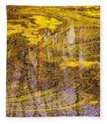 Pond Scum Three Fleece Blanket