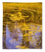 Pond Scum Two Fleece Blanket