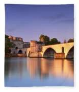 Pont St. Benezet Fleece Blanket