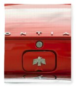 Pontiac Firebird Emblem Fleece Blanket
