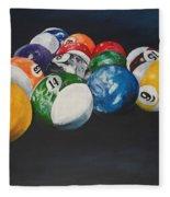 Pool Balls Fleece Blanket