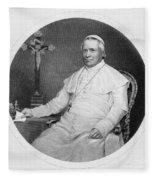 Pope Pius Ix (1792-1878) Fleece Blanket