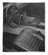Porsche Interior Fleece Blanket