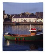 Portaferry, Strangford Lough, Ards Fleece Blanket