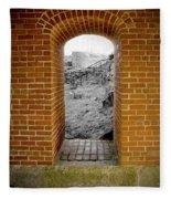 Portal To The Past Fleece Blanket