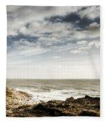 Porthcawl Pier Fleece Blanket