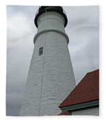 Portland Lighthouse Fleece Blanket