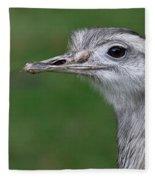 Portrait Of A Rhea Fleece Blanket