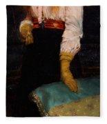 Portrait Of Miss Macwirter Fleece Blanket