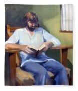 Portrait Study 1984 Fleece Blanket
