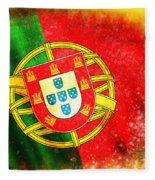 Portugal Flag  Fleece Blanket