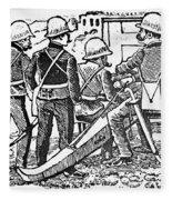 Posada: The Artillerymen Fleece Blanket