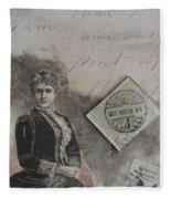 Postmark Budapest Fleece Blanket