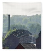 Potteries Urban Landscape Fleece Blanket