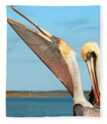 Pouch And Preen Fleece Blanket