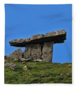 Poulnabrone Dolmen Fleece Blanket