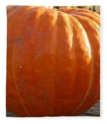 Pounds Of Pumpkin  Fun Fleece Blanket