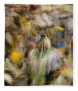 Pow Wow Color Fleece Blanket