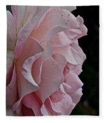 Powder Puff Pink Fleece Blanket