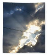 Power Of Light Fleece Blanket