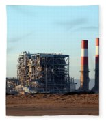 Power Station Fleece Blanket