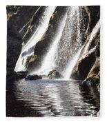 Powerscourt Waterfall, Powerscourt Fleece Blanket