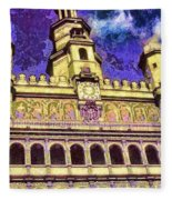 Poznan City Hall Fleece Blanket