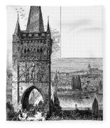 Prague: Carlsbridge Fleece Blanket