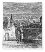 Prague: Castle Stairs Fleece Blanket