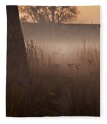 Prairie Pre Dawn Fleece Blanket