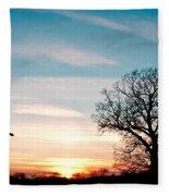 Prayer Beads Fleece Blanket