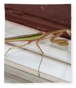 Praying Mantis Fleece Blanket