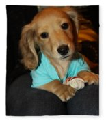 Precious Puppy Fleece Blanket