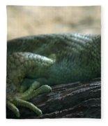 Prehensil Tailed Skink Fleece Blanket