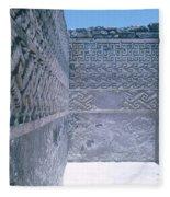 Prehistoric Ruins Of Mitla Fleece Blanket
