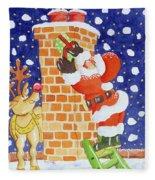 Present From Santa Fleece Blanket