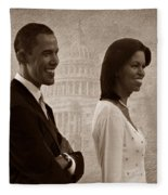 President Obama And First Lady S Fleece Blanket
