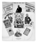 Presidential Campaigns Fleece Blanket